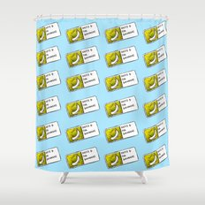 Bananas Pattern Shower Curtain