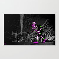 Fear And Loathing EDM Canvas Print