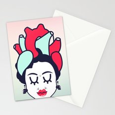 Frida Heart Stationery Cards
