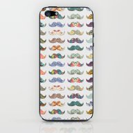 Mustache Mania iPhone & iPod Skin