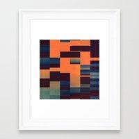 glytch hyryzyn Framed Art Print