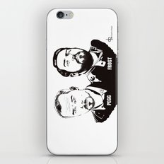 Simon Pegg & Nick Frost iPhone & iPod Skin