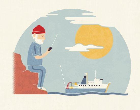 My RC Boat Art Print