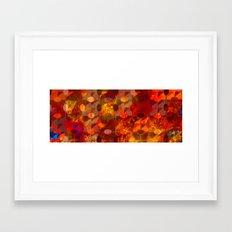 Scorched Earth. Framed Art Print