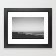 engage. Framed Art Print