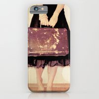 iPhone & iPod Case featuring Bon Voyage Mademoiselle by monography