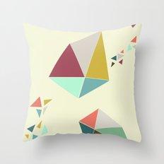 Geome(tri)c Throw Pillow