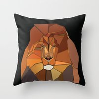 Dark Crystal Lion Throw Pillow