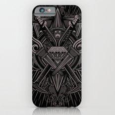 Crest Craft Black iPhone 6s Slim Case
