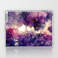 Watercolor Galaxy Laptop & iPad Skin