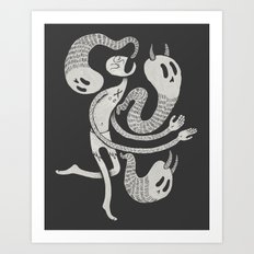 Galilean Demoniac Art Print