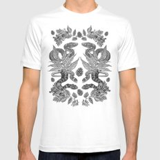 Serpent's Choir Mens Fitted Tee SMALL White