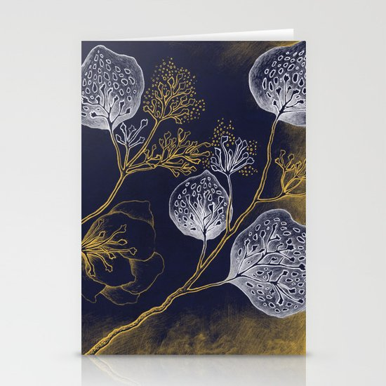 Floral pattern Stationery Card