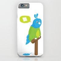 Depressed Parrot iPhone 6 Slim Case