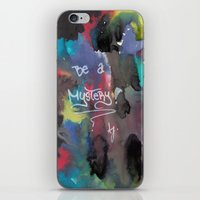 Be A Mystery iPhone & iPod Skin