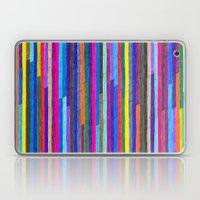 Broken Stripes Laptop & iPad Skin