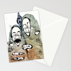 the warriors -2- Stationery Cards
