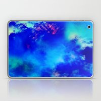 Cosmic Clouds In Dark Blue Laptop & iPad Skin