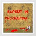 Expert in Pro... Art Print