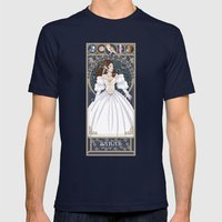 Sarah Nouveau - Labyrinth Mens Fitted Tee Navy SMALL