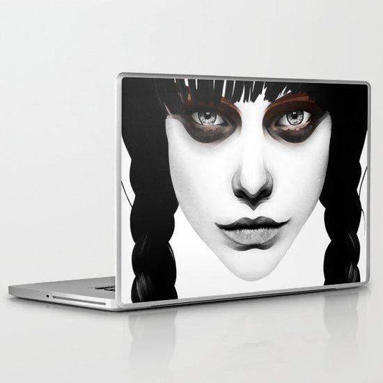 Wakeful Warrior - In Red Laptop & iPad Skin