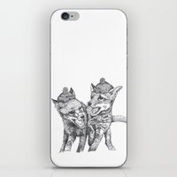 Pierre Et Jacques iPhone & iPod Skin