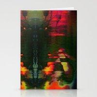 303030 (J Nude Glitch) Stationery Cards
