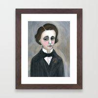 Lewis Carroll And The Ch… Framed Art Print