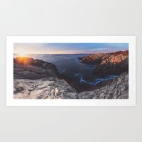 Panoramic Sunrise Art Print