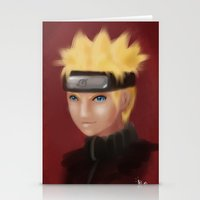 Uzumaki Naruto Stationery Cards