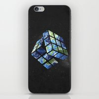 rubik's earth iPhone & iPod Skin