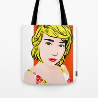 popart  Tote Bag