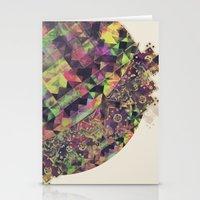 Green Garden Stationery Cards