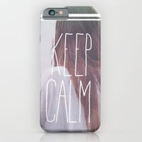 iPhone & iPod Case featuring Wander (Keep Calm) by Valerie Bee