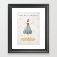 Memory Loss Framed Art Print