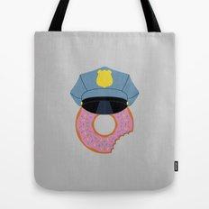 Officer Donut Tote Bag