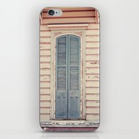 Three Shutters - New Orleans French Quarter iPhone & iPod Skin