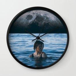 Wall Clock - Moon River - Seamless