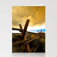 Choking the Sun Stationery Cards