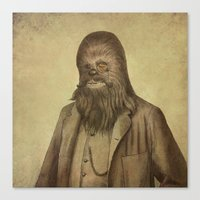 Chancellor Chewman (square format)  Canvas Print