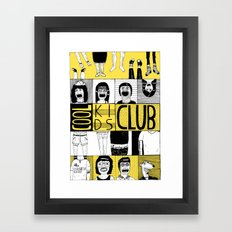 Cool Kids Club Framed Art Print