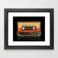 Awesome Transparent Mix … Framed Art Print