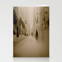 Somewhere In Downtown Stationery Cards