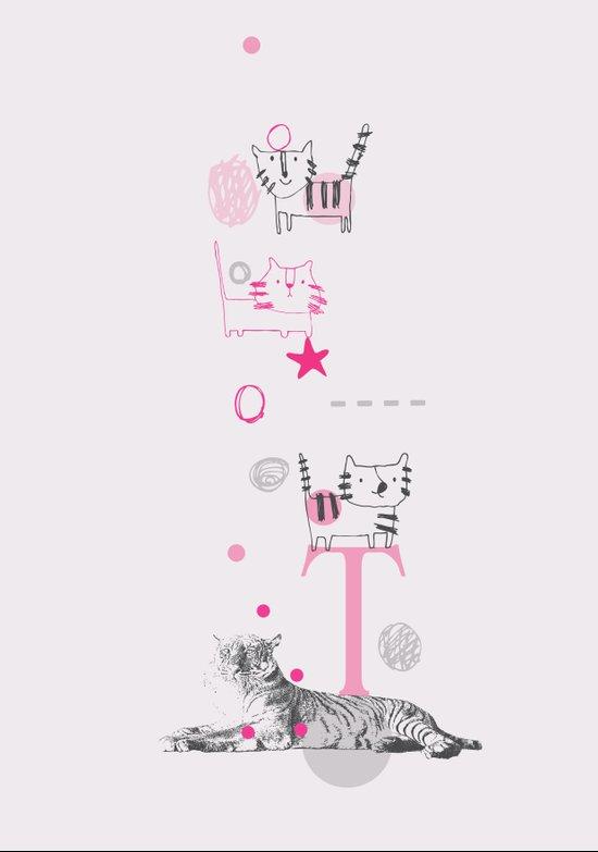 Tiger Circus Art Print