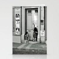 Paris, Ringing The Door … Stationery Cards
