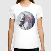 horse T-shirts featuring Horse by Slaveika Aladjova