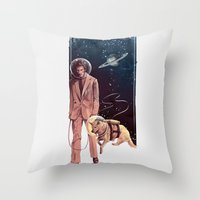 GTFO Throw Pillow