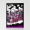 Geometrik Explosion - for iphone Stationery Cards