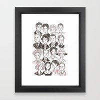 Downton Abbey Framed Art Print