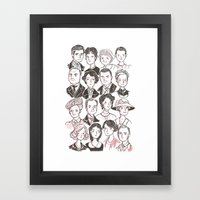 Downton Abbey Framed Art Print